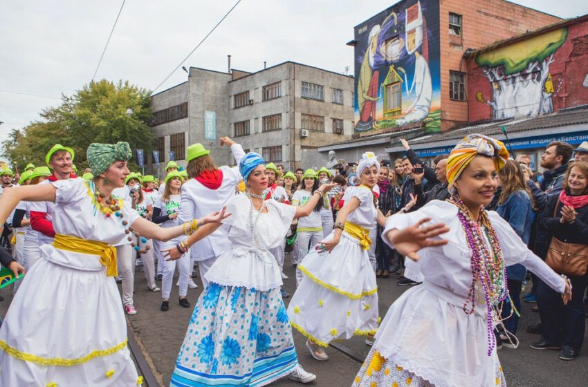 A festival of different countries' cultures
