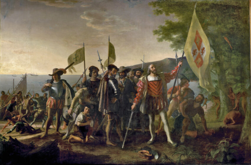 The First Colonization of Haiti
