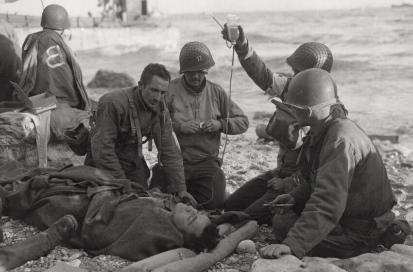 The D-Day landings: 'You had to hear and see it to believe it'
