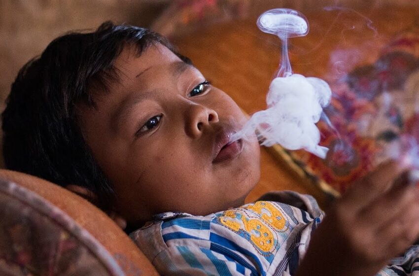 Between Cigarettes and Indonesia