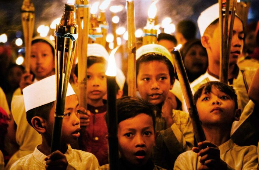 How Indonesians Enthusiastically Welcome the Arrival of Ramadhan
